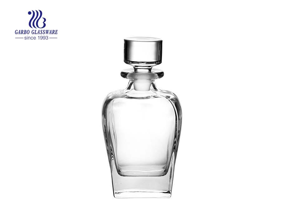 800ml high end irregular glass decanter bottle