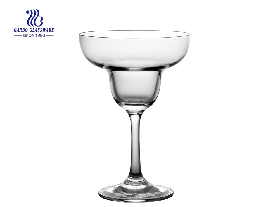 Margarita cocktail 200ml glass cup with stem mexican glassware wholesale