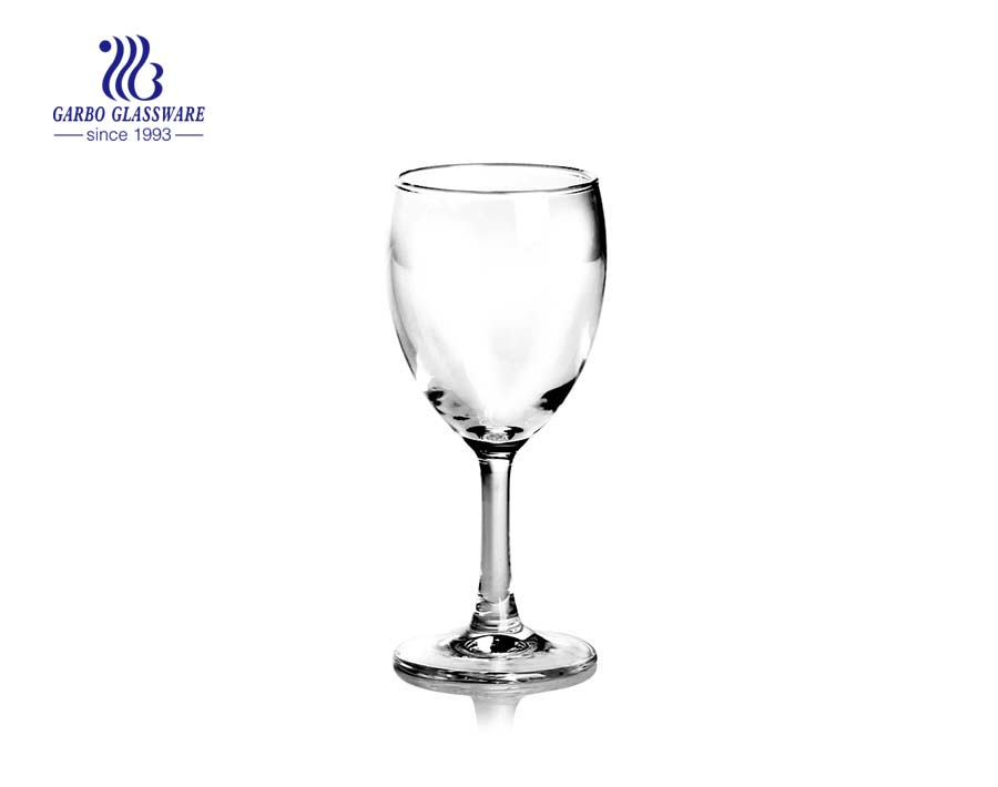 China glassware factory 25ml shot glass with diamond stem