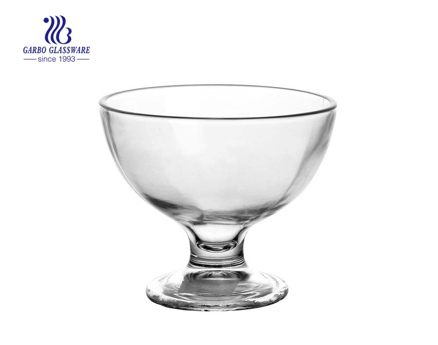 Buy discount clear glass ice cream bowls