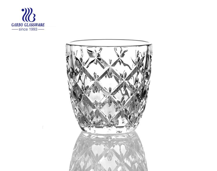 New Designs Glass Round Shape Juice Tumblers Set