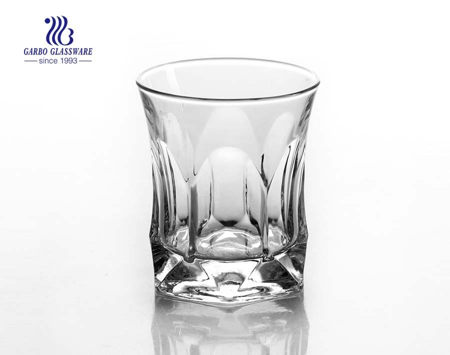 Vasos Highball de vidrio de roca de 10 oz para beber whisky