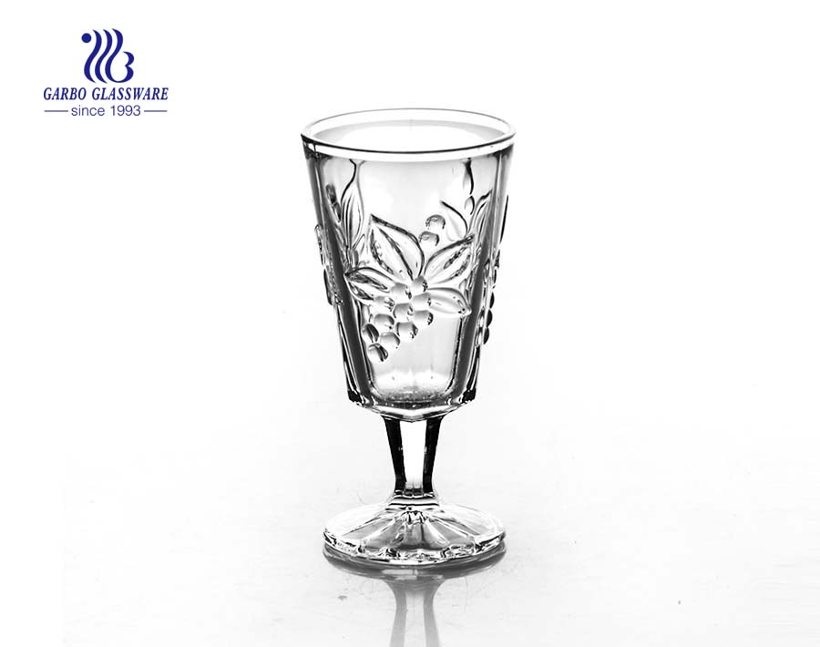 Highball stone glassware of glass goblets for wine