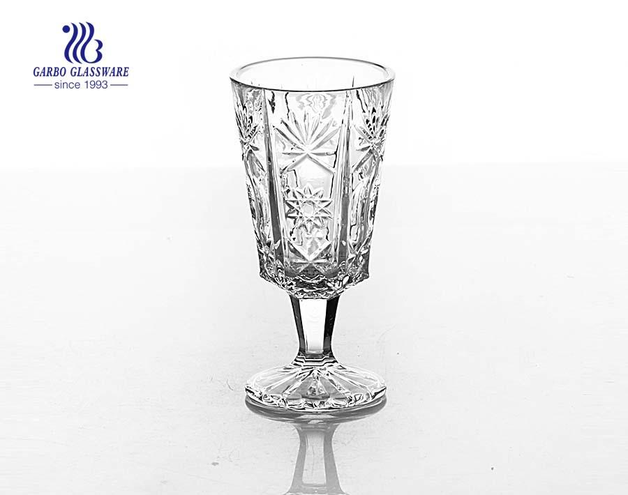 Highball stone glassware of glass goblets for wine