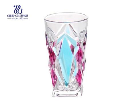 Bộ cốc thủy tinh bóng cao phun màu cho bộ quà tặng