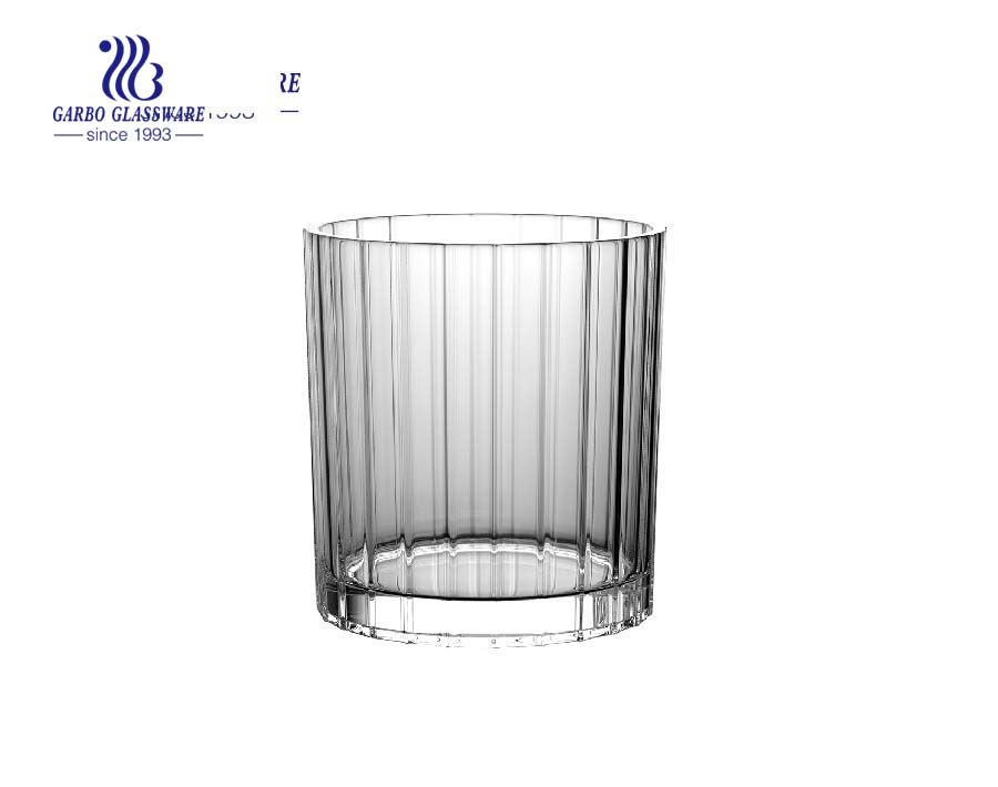 New Europe style glass whisky tumblers with factory price
