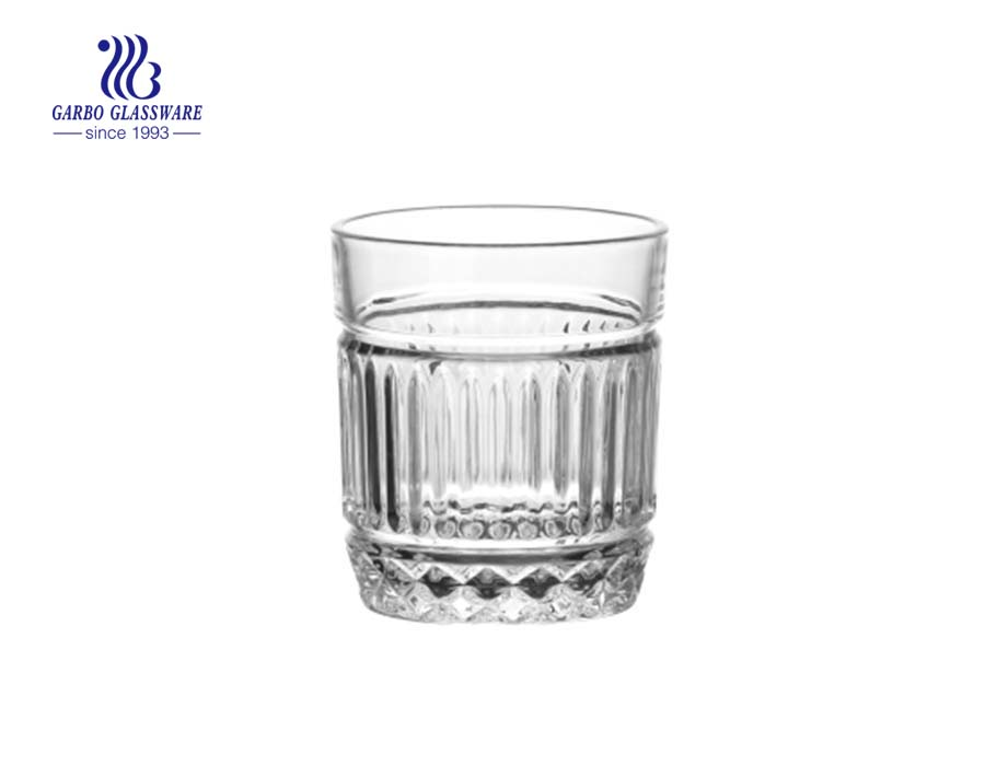 Arabic style glass tumblers for tea drinking with factory price