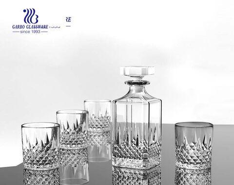 China Glas handgefertigten Dekanter Hersteller