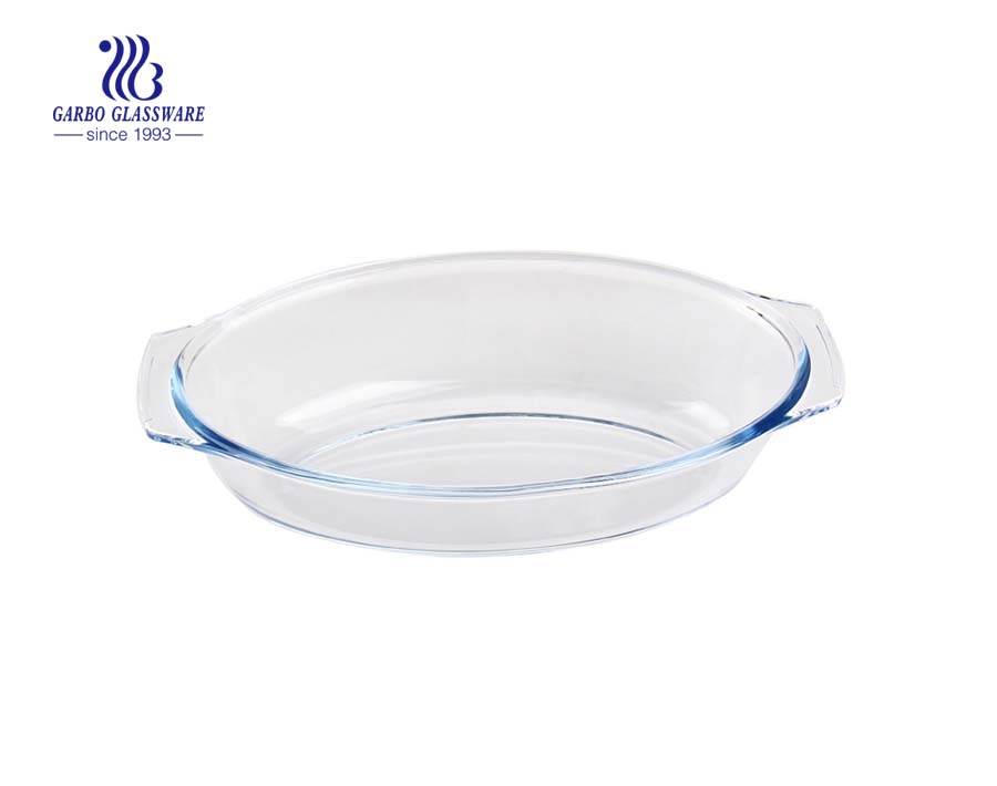 High quality 2.3L round pizza baking plate