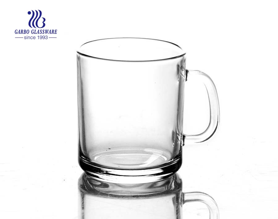 15oz clear mug glass for water
