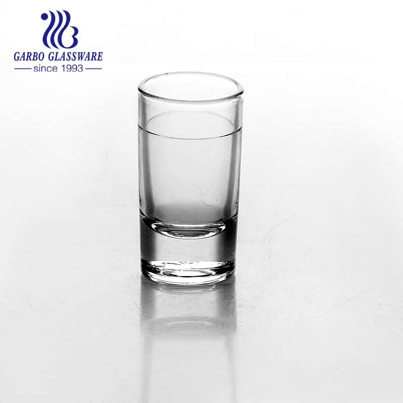 22ml Transparent shot glass for wine drinking