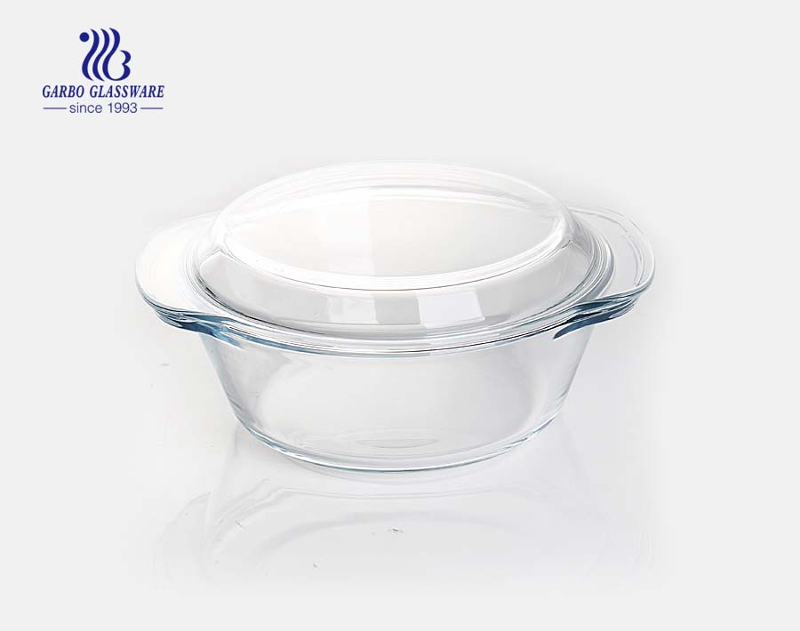 850ml baking pot with ear handle