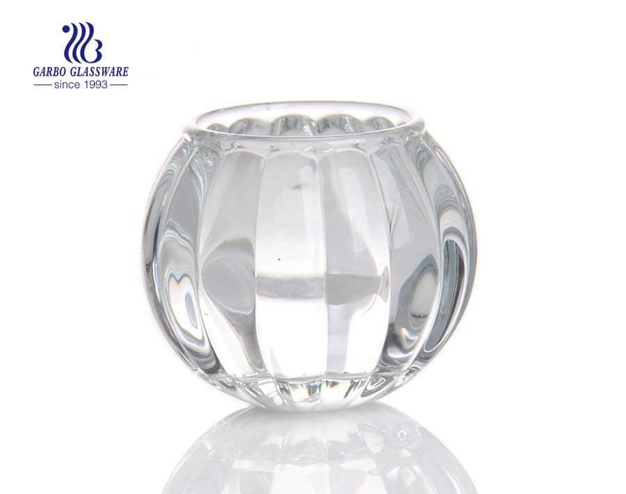 clear glass candle globes
