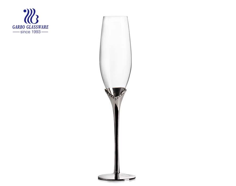 الصين مصنع القلب تصميم المزامير مزدوجة الشمبانيا