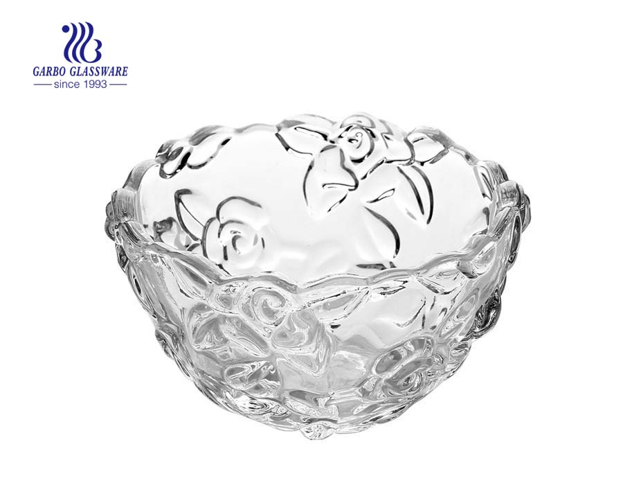 Sunflower Series of Glass fruit Bowl