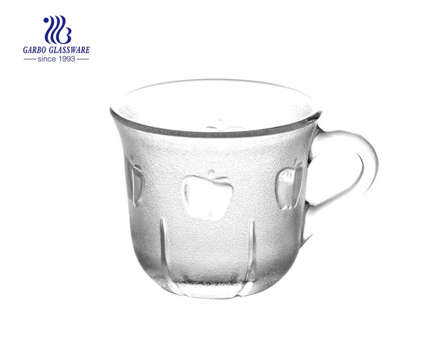 160ml mug glass for tea