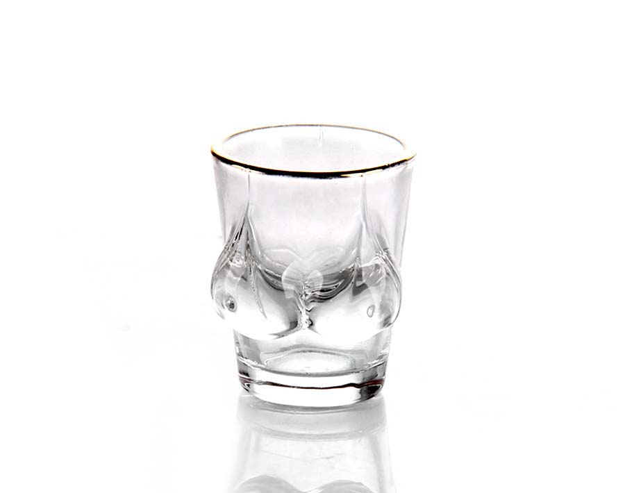 2oz shot glass bikini shape hot for volka shot drink