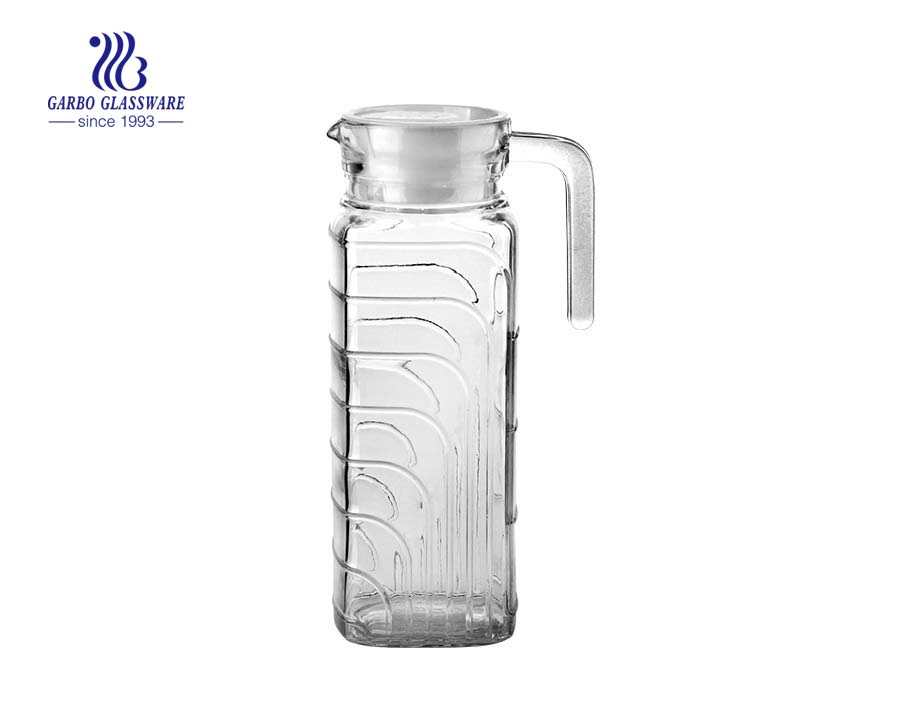 China direct glassware factory made glass pitcher