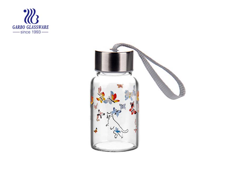 150ml Transparent pyrex glass bottle wholesale