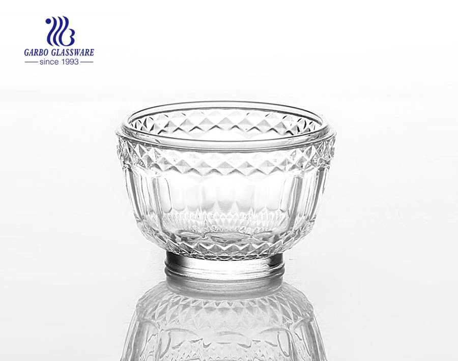 Wholesale High Quality Bohemian Crystal Bowl with Foot 3inch