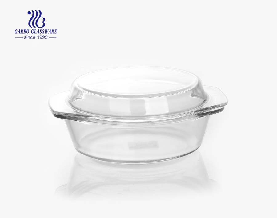 Wholesale Glass Bowls Hot Selling Embossed Crystal Glass Salad Bowls with Big Flower