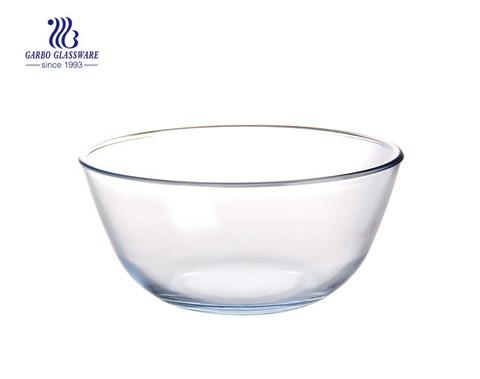 Tigelas de salada redondas em pirex de 4L para cozinha