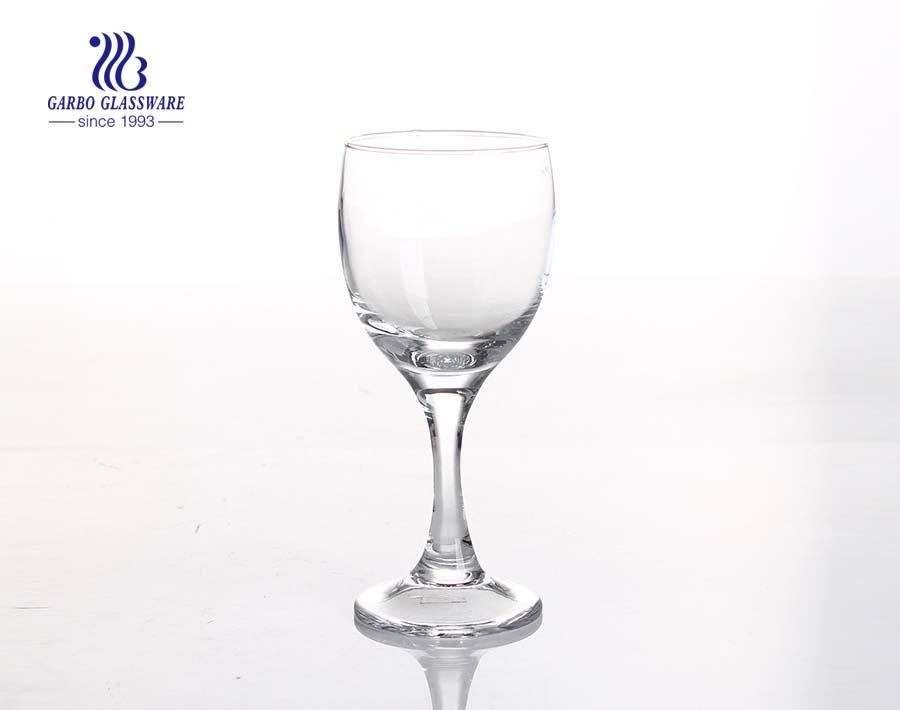 Taças de vidro para vinho cálice de cálices sem chumbo