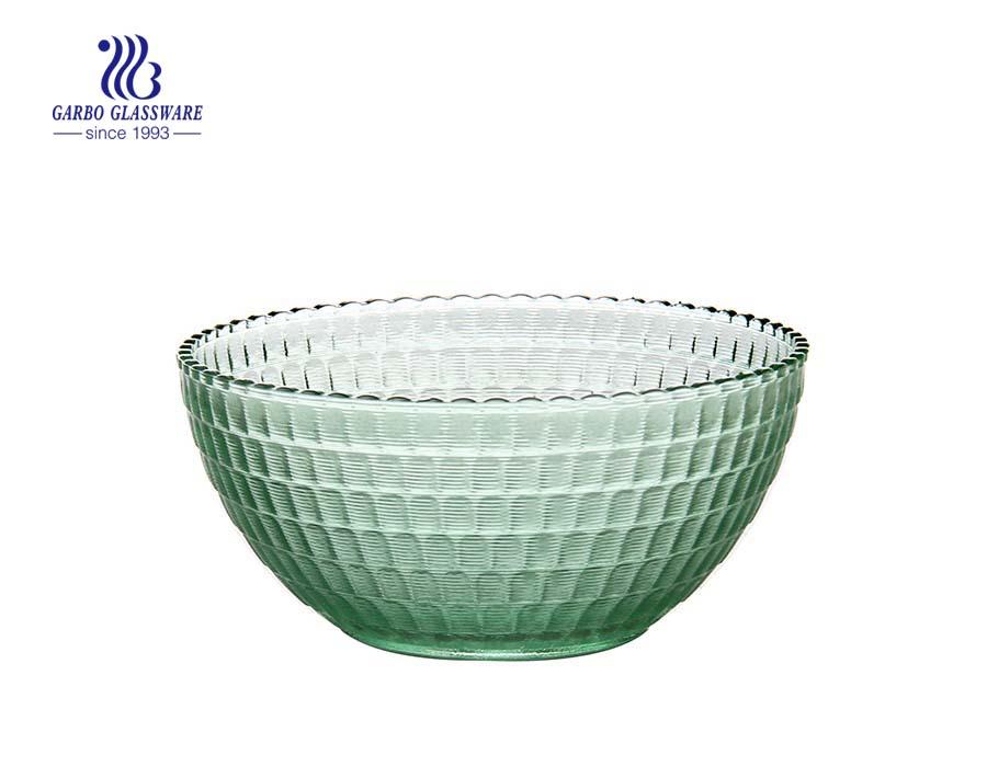 Großhandel Günstige Kristall Dekorative Blumenform Klarglas Salatschüssel