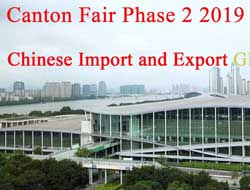 Chinese Import and Export Glassware Fair, Canton Fair Phase 2 2019 Guangzhou