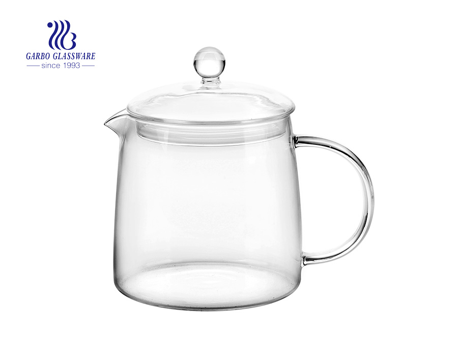 Made in China 1.3 l Pyrex-Glasteekanne mit Aufguss
