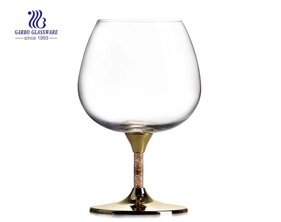 Novos copos de vidro para copos de casamento de 12 onças sem chumbo