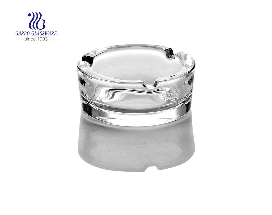 3inch small clear glass ashtray for homeware