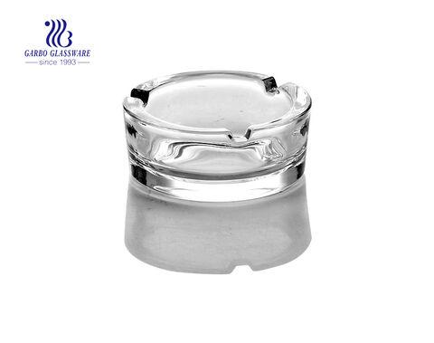 3-Zoll-Aschenbecher aus klarem Glas für Haushaltswaren
