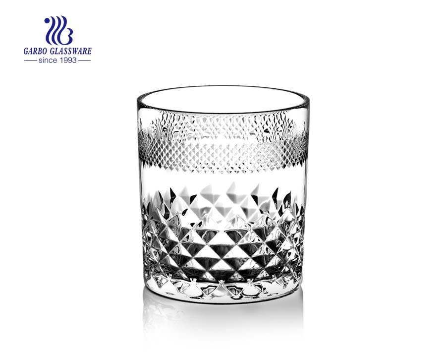 11 Unzen graviertes Whiskyglas zum Weintrinken
