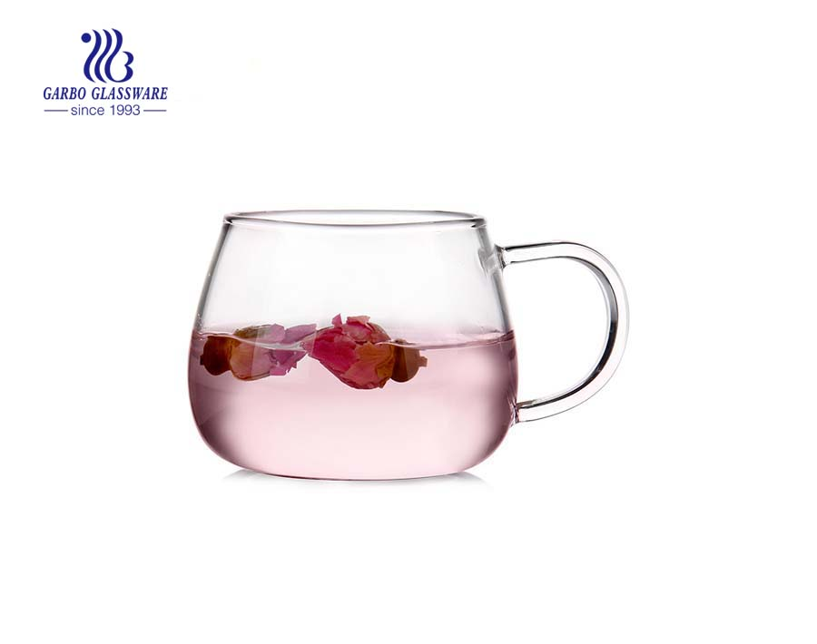 Made in China new arrival heat resistant single wall glass cup