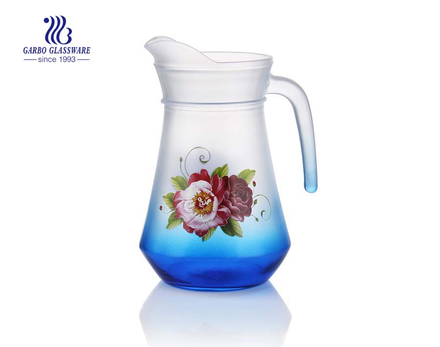 Cheap wholesale 1.3L glass kettle from China glassware factory
