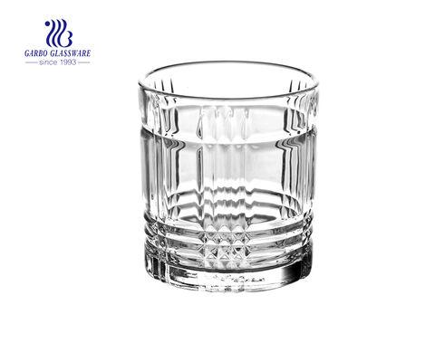 11oz بهلوان زجاج شرب النبيذ ويسكي مع سعر المصنع