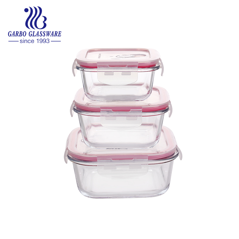 How to choose a proper glass food container?
