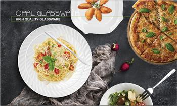 The reason why we choose opal glass dinner ware