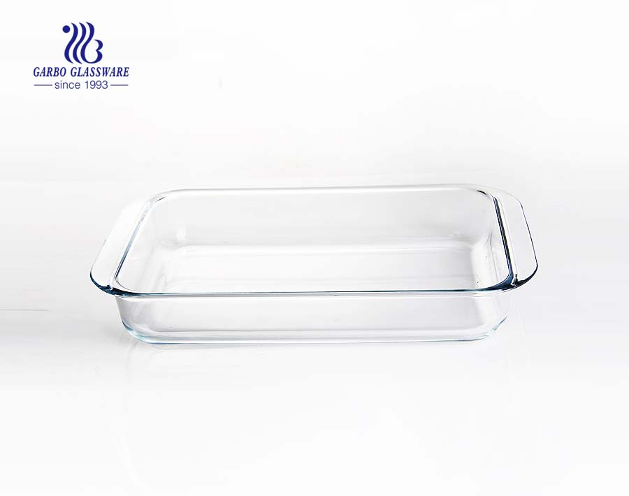 5L big oven safe baking plate with color lid