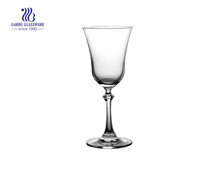 Elegant 4.4oz 125ml Lead Free Crystal Goblet Wine Glass glass cup