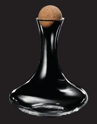 If soda lime wine glass decanter can pass food test?