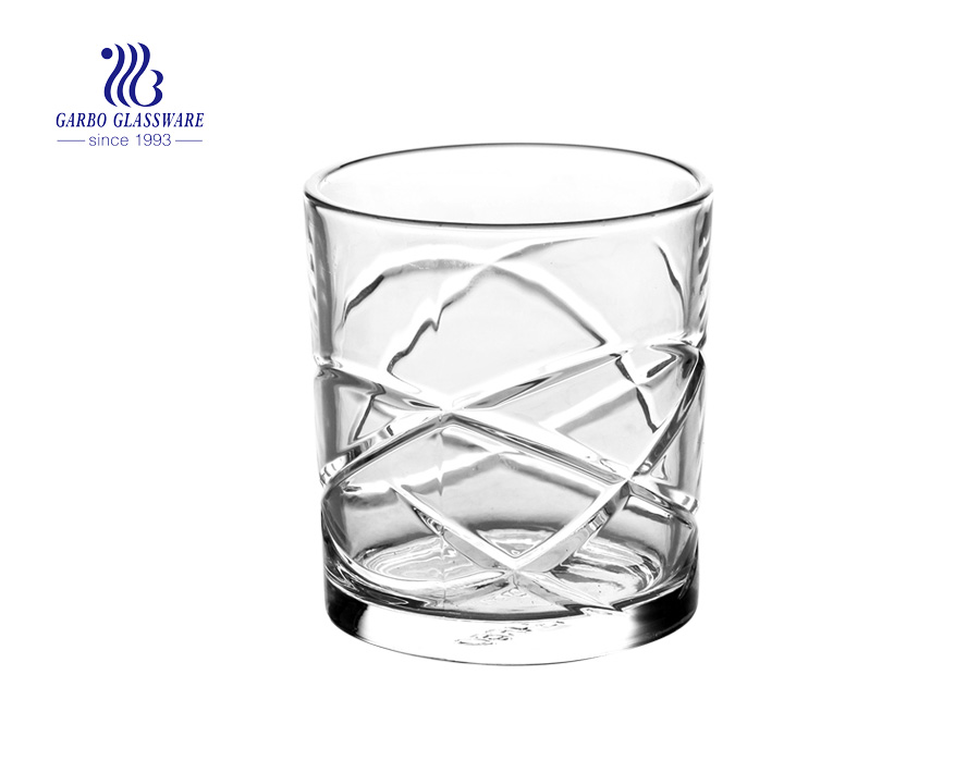 300ml new items glass whisky glass cups from manufacture supplier