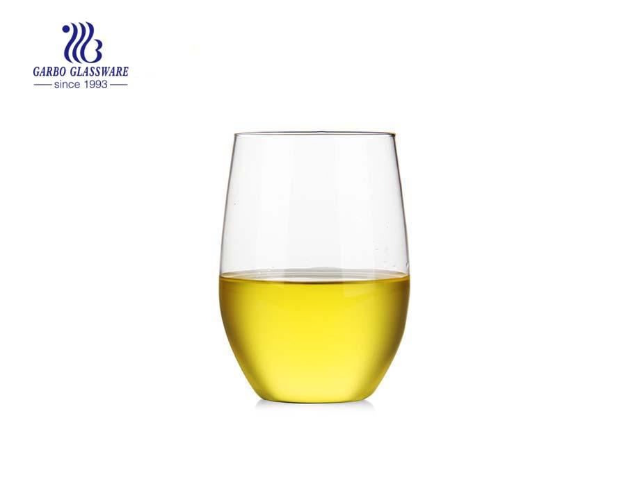 تصميم جديد بيركس زجاجيات جدار واحد كوب ماء زجاجي