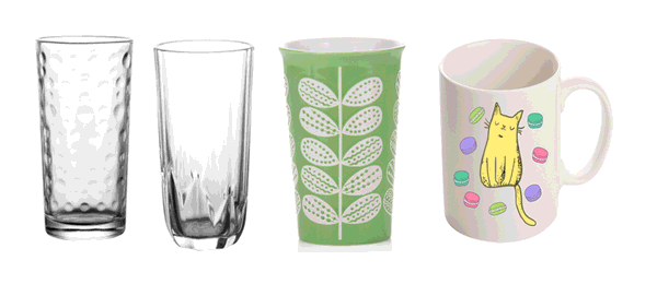 Which one is better, glass cup or ceramic cup ?