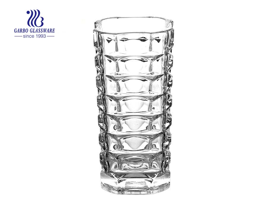 Large Size High Clear Glass Vase For Home And Wedding Decoration