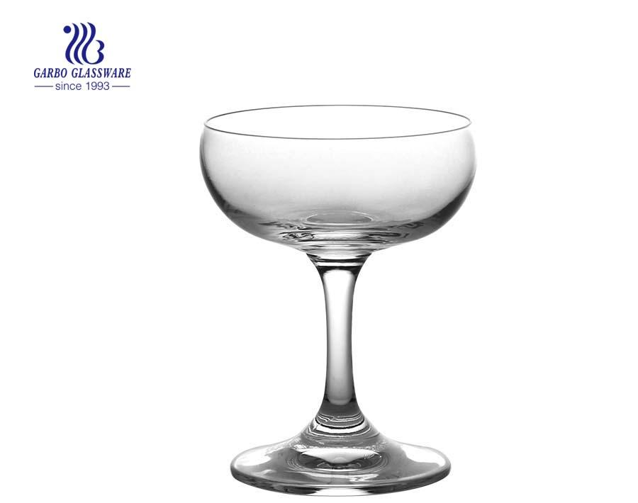 Neues Produkt Glas Stielglas Kristall Weinkelche Gin Glas