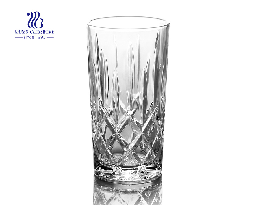 270ml highball glass juice tumbler with factory price