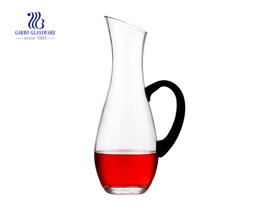 1800ml Clear Glass Wine Decanters With Glass Handle  GB3023