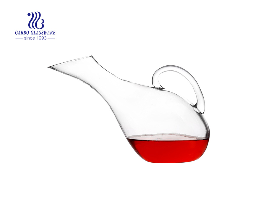 Special Shaped OEM Personalized Logo Wine Glass Decanters